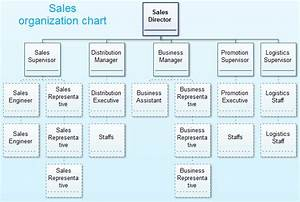 Sales organization structure for Sales team structure template