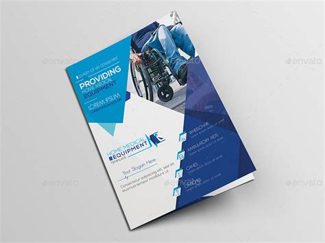 home medical equipment  brochure template  wutip