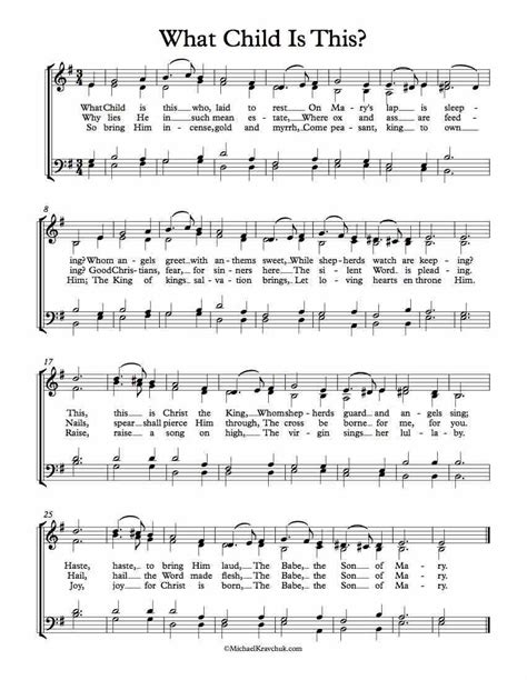 free choir sheet music what child is this free sheet