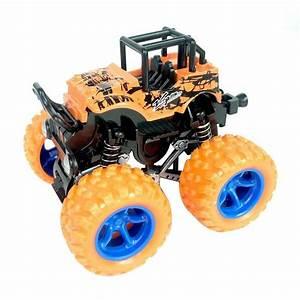 Friction Powered Big Wheels Cars