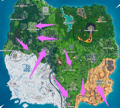fortnite gas station locations polygon