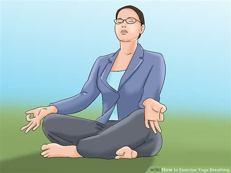 how to exercise yoga breathing 5 steps with wikihow