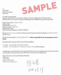 LETTER OF INVITATION FOR TOURIST VISA ~ Sample & Templates