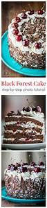 Black Forest Cake (a famous German Chocolate Cake) with 4 ...