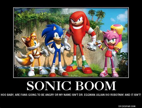 Sonic Boom Memes - sonic boom demotivational by lightyearpig on deviantart