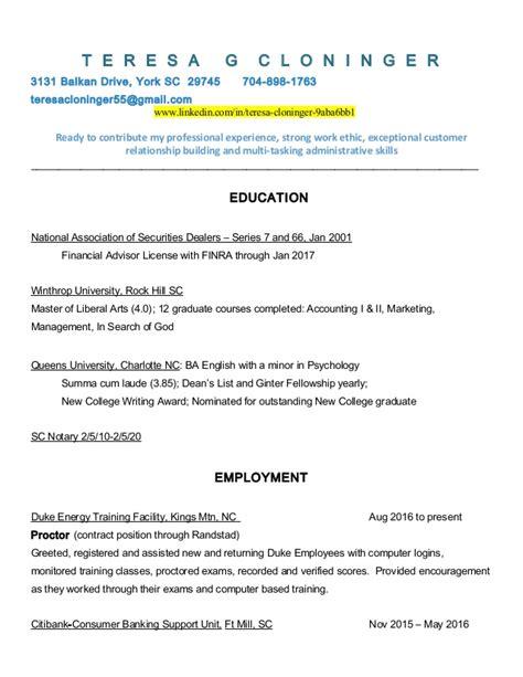 revised resume sept 2016