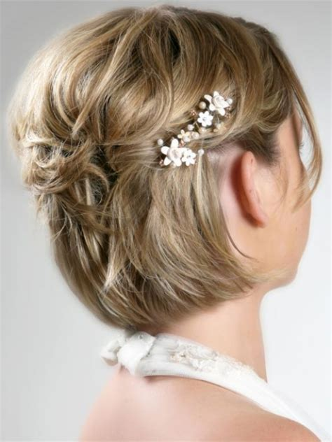 coiffure mariage cheveux courts sans extensions pour le