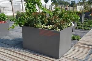 Hochbett Aus Metall : hochbeet urban aus metall 1 1m x 0 3 m x 0 9 m beschichtet ~ Frokenaadalensverden.com Haus und Dekorationen