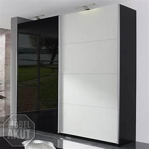 Kleiderschrank Schwarz Weiß : schwebet renschrank beluga kleiderschrank in schwarz wei hochglanz 270 cm ebay ~ Orissabook.com Haus und Dekorationen