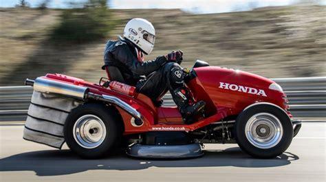 Honda Mean Mower Weltrekord Für Den Schnellsten