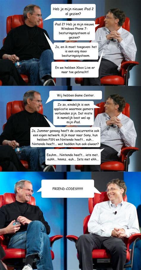 Bill Gates And Steve Jobs Meme - bill gates memes