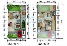 desain rumah minimalis  lantai type  contoh rumah