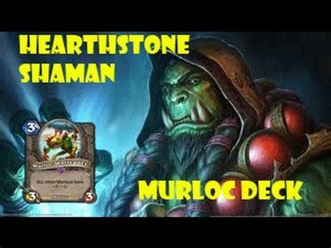 Hearthstone Shaman Murloc Deck Bloodlust Mrglrlorllglglr