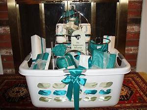 bridal shower basket basket ideas pinterest bridal With gifts for a wedding shower