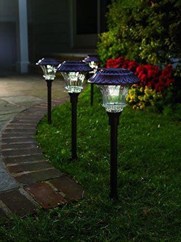 solar path lights reviews best outdoor solar powered pathway lights top 10 reviews