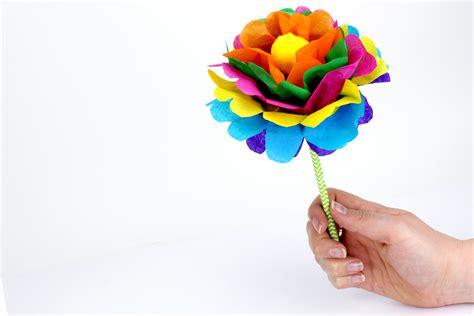 comment faire une fleur en papier faire une fleur en papier m 233 thode facile activit 233 s