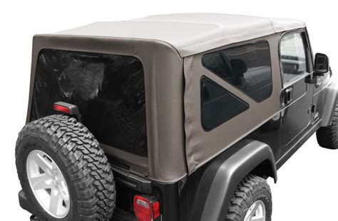 jeep wrangler unlimited soft top 82208869ac mopar sunrider soft top for 04 06 jeep