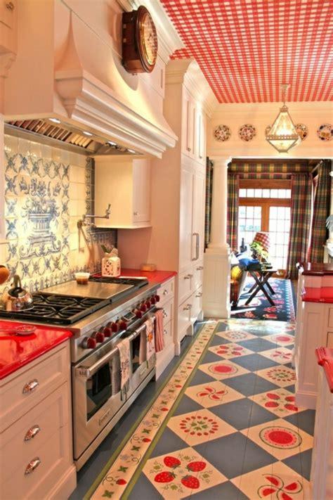 Küche Vintage Stil by Baumwollstoff Und Vintage Stil In Ihrer K 252 Che