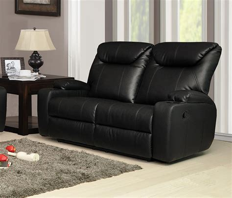 Recliner Settee by New Luxury Cinema Lazy Boy 2 Seater Bonded Leather