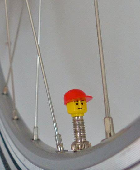 lego bicycle valve caps
