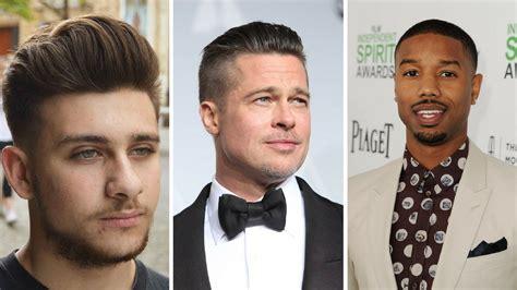 face shape hairstyles male hair