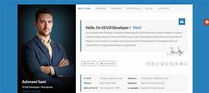 Personal website templates cyberuse for Personal resume website templates free download