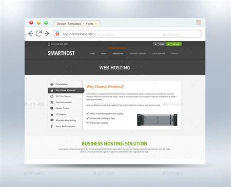 website mockup template template business
