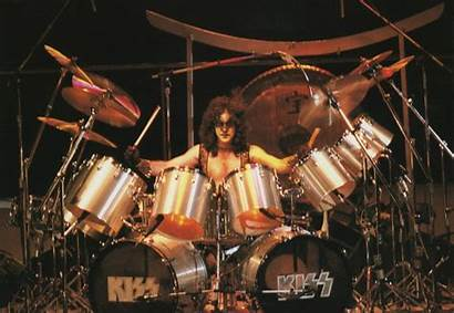 Kiss Carr Eric Drums 1980 Rock Pearl