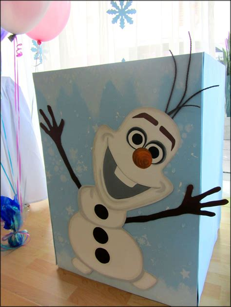 frozen party decoration olaf gift box office supplies