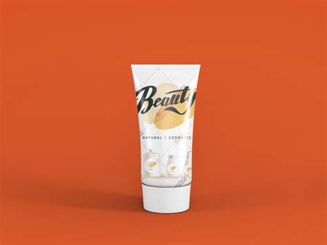 Download cream packaging mockups, water bottle mockups, food supplement packaging bottle mockups, dispensers mockups get exclusive access to our new mockup set, free cosmetic mockup set + premium version, that consists of 10 photorealistic cosmetic bottle mockups which. Cosmetic Tube Free PSD Mockup | Download Mockup