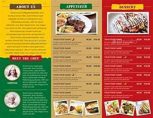 Free Brochure Maker Download Rustic Trifold Restaurant Brochure And Menu By Monggokerso