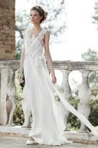 boho brautkleid alberta ferreti inspirational bridal 2016 wedding dress collection be modish