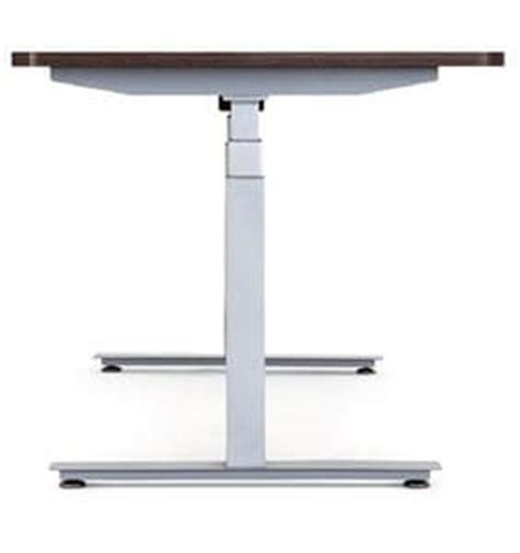 tresanti sit to stand tech desk power height adjustable bamboo electric powered standing office desk