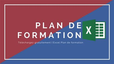 modele plan de formation excel comment r 233 aliser plan de formation t 233 l 233 chargez