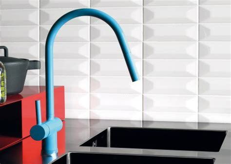 Colorful Kitchen Faucets from Zucchetti