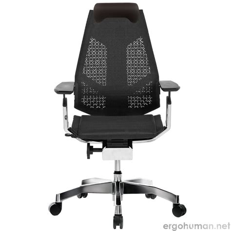 genidia mesh office chair with neck roll genidia