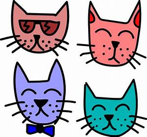 Graffiti Cats Clip Art at Clker.com - vector clip art ...