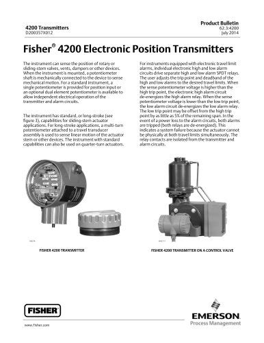 912N Series Pressure Regulators - FISHER REGULATORS - PDF