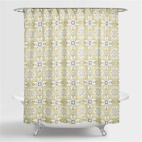 shower curtains world market mosaic shower curtain world market curtain menzilperde net