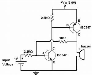 how to build an alarm circuit with transistors With circuit on off latch circuit