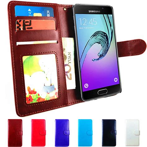 leather flip case  samsung galaxy  pro  cover