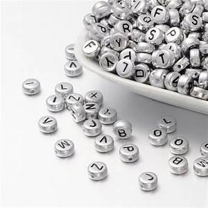 letter beads alphabet beads silver bulk beads wholesale beads With letter beads in bulk