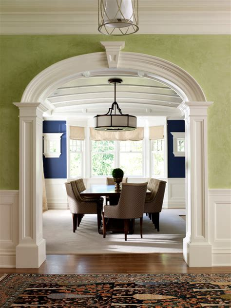 canaan shingle style traditional dining room