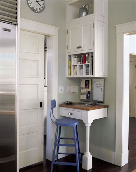 small kitchen desk ideas corner desk cottage kitchen smith river kitchens