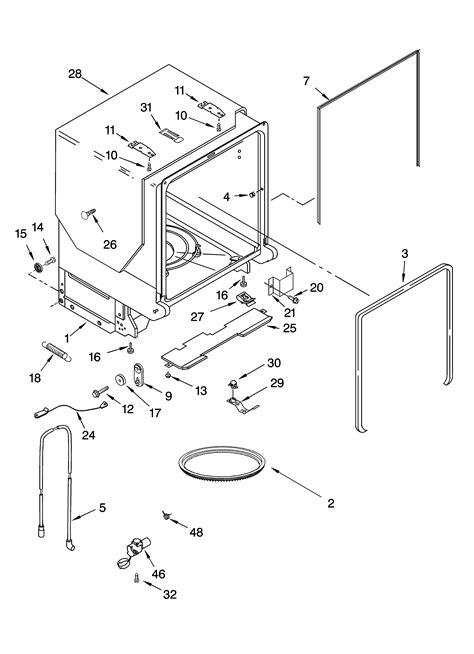 Kitchenaid Dishwasher Parts by 29 Parts