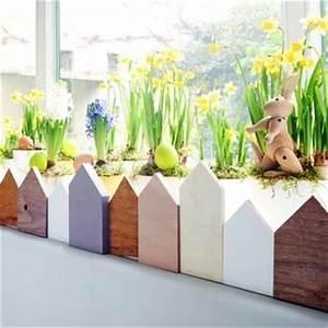Fensterdeko Aus Holz : fensterdeko f r ostern und fr hling basteln ~ Markanthonyermac.com Haus und Dekorationen