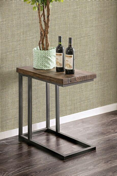 cm ac zula industrial style dark oak finish wood chair