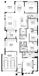 home layout floor plan friday large family home