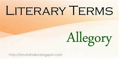 Allegory Satire Imagery Literature Symbol Literary Terms