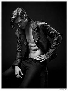 Justin Hopwood Poses in Leather for New Photos by Ashton ...